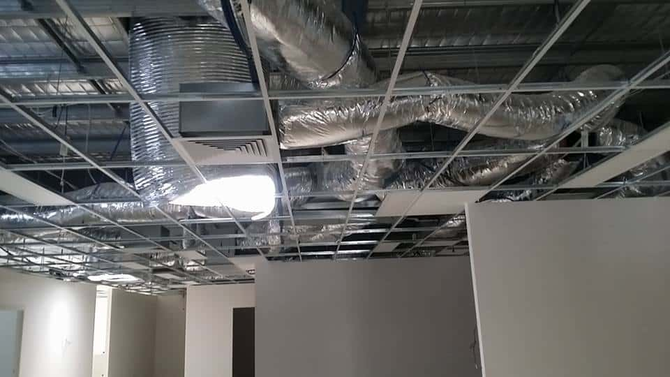 Commercial and ducted air conditioner cleaning