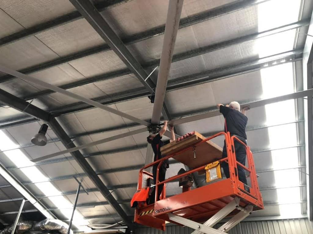 Big Fans for School Gyms and Commercial Spaces